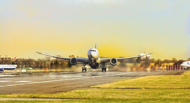 letadlo v teolých krajích
