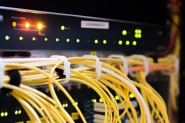 kabelové připojení